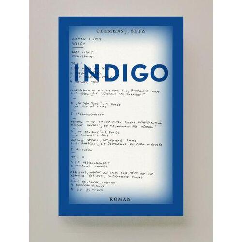 Indigo - Clemens Setz (ISBN: 9789491717598)