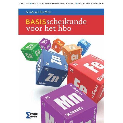Basisscheikunde voor het HBO - A.G.A. van der Meer (ISBN: 9789491764196)