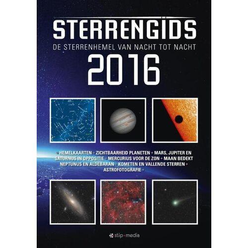 Sterrengids 2016 - Erwin van Ballegoij, Jean Meeus, Tom Peters (ISBN: 9789492114020)