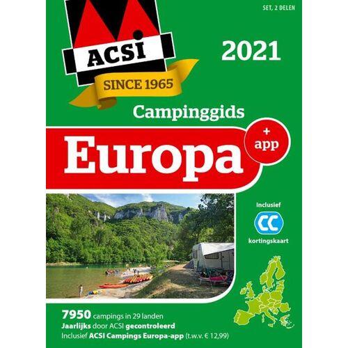 ACSI Campinggids Europa + app 2021 - Acsi (ISBN: 9789493182035)