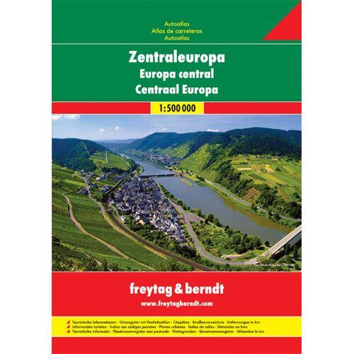 Centraal Europa Wegenatlas F&B - (ISBN: 9783707907476)