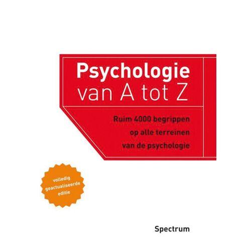 Psychologie van A tot Z - Ad Bergsma (ISBN: 9789000321506)