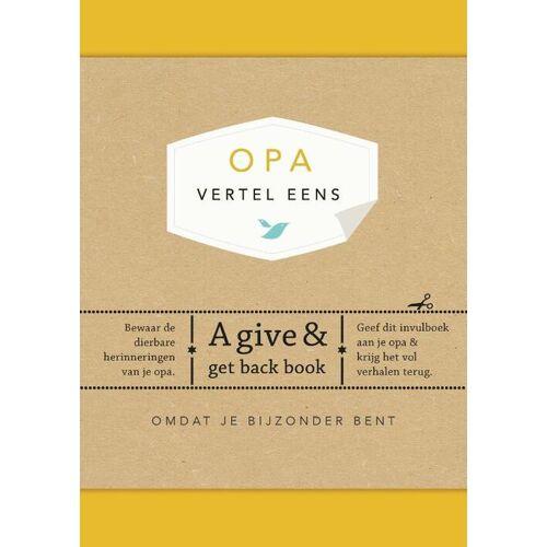 Opa, vertel eens - Elma van Vliet (ISBN: 9789000347032)