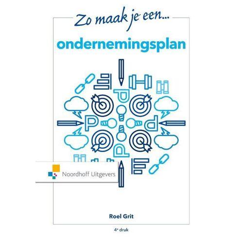 Zo maak je een ondernemingsplan - Roel Grit (ISBN: 9789001120382)