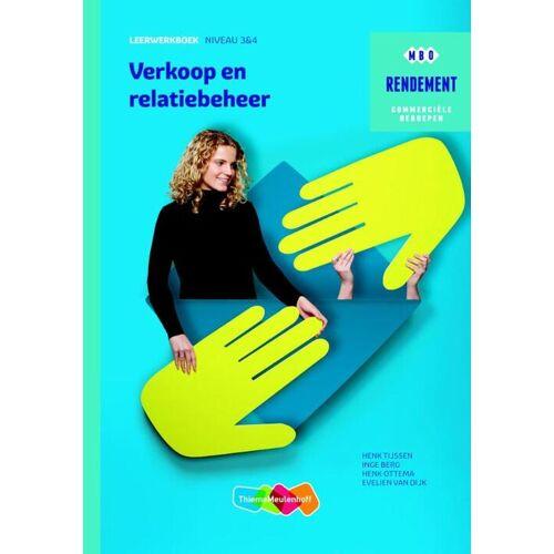 Verkoop en relatiebeheer - Henk Ottema, Henk Tijssen, Inge Berg (ISBN: 9789006372304)