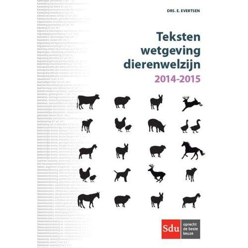 Teksten wetgeving dierenwelzijn - E. Evertsen (ISBN: 9789012393577)