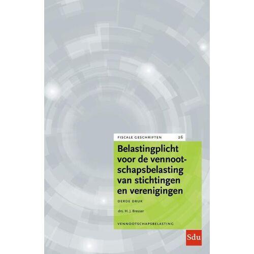 Belastingplicht voor de vennootschapsbelasting van stichtingen en verenigingen - H.J. Bresser (ISBN: 9789012404723)