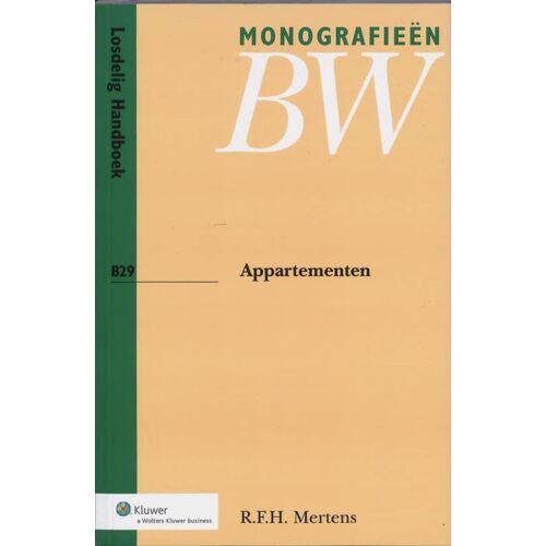 Appartementen - R.F.H. Mertens (ISBN: 9789013028768)