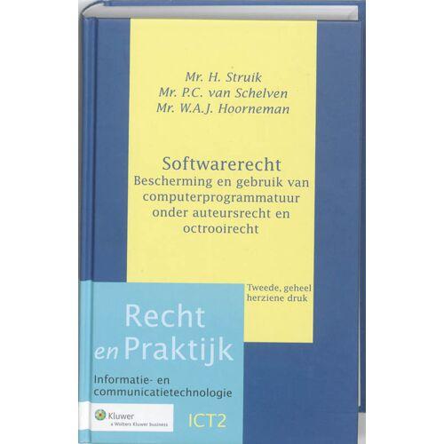 Softwarerecht - H. Struik, P.C. van Schelven, W.A.J. Hoorneman (ISBN: 9789013059458)