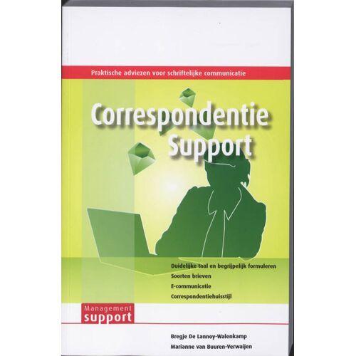 Correspondentie Support - Bregje de Lannoy-Walenkamp (ISBN: 9789013067231)