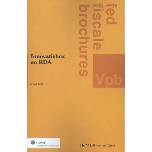 Innovatiebox en RDA - M.L.B. van der Lande (ISBN: 9789013077261)