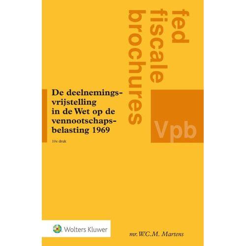 De deelnemingsvrijstelling in de Wet op de vennootschapsbelasting 1969 - W.C.M. Martens (ISBN: 9789013105896)