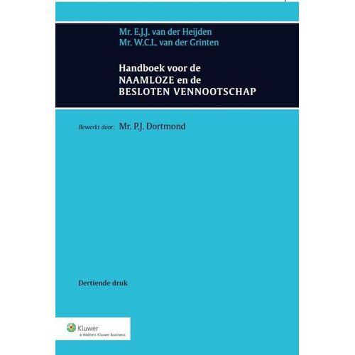 Handboek voor de Naamloze en de Besloten Vennootschap - E.J.J. van der Heijden, W.C.L. van der Grinten (ISBN: 9789013113228)