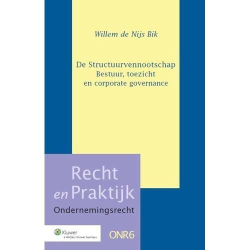 De structuurvennootschap - W.W. Nijs Bik (ISBN: 9789013120974)