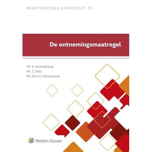 De ontnemingsmaatregel - D. Emmelkamp, N.G.C. Verschaeren, T. Felix (ISBN: 9789013139150)