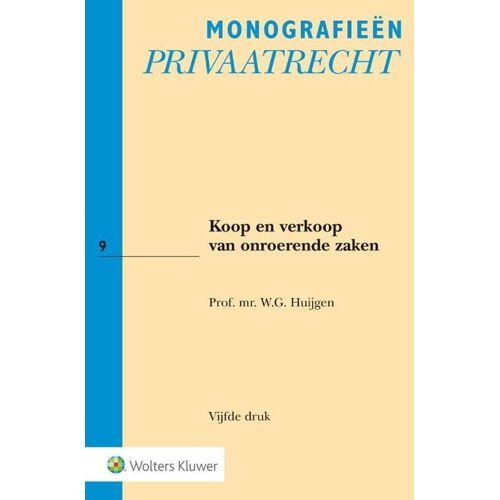 Koop en verkoop van onroerende zaken - W.G. Huijgen (ISBN: 9789013143300)