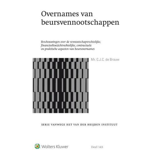 Overnames van beursvennootschappen - Christiaan de Brauw (ISBN: 9789013144857)