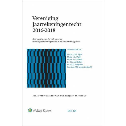 Vereniging Jaarrekeningenrecht 2016-2018 - (ISBN: 9789013151367)