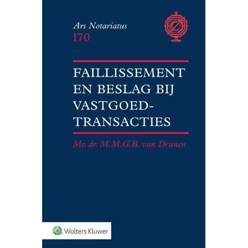 Faillissement en beslag bij vastgoedtransacties - M.M.G.B. van Drunen (ISBN: 9789013154658)