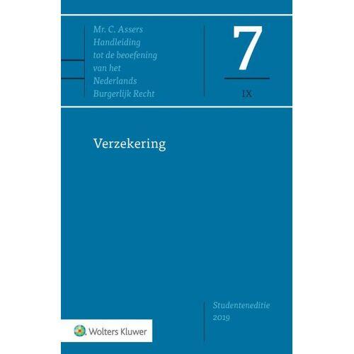 Verzekering - Prof. Mr. J.H. Wansink (ISBN: 9789013154771)