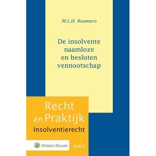 De insolvente naamloze en besloten vennootschap - M.L.H. Reumers (ISBN: 9789013157888)