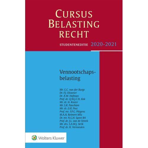 Cursus Belastingrecht Vennootschapsbelasting 2020-2021 - G.C. van der Burgt (ISBN: 9789013157970)
