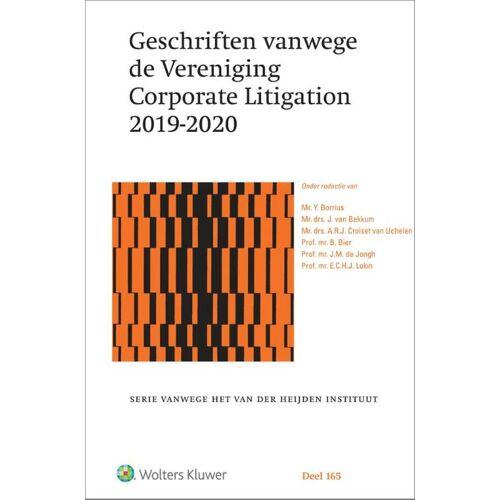 Geschriften vanwege de Vereniging Corporate Litigation 2019-2020 - Y. Borrius (ISBN: 9789013159653)
