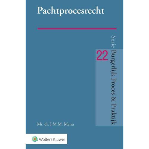 Pachtprocesrecht - J.M.M. Menu (ISBN: 9789013160314)