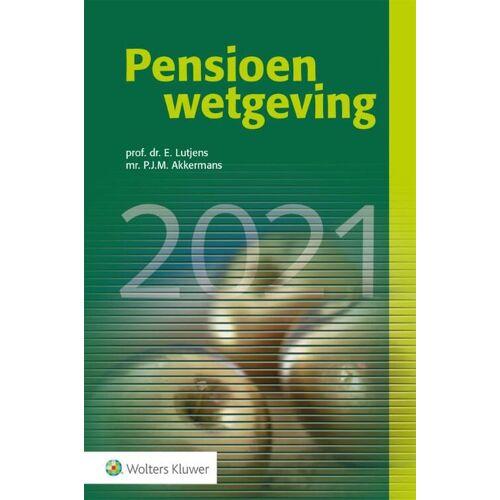 Pensioenwetgeving - (ISBN: 9789013162127)