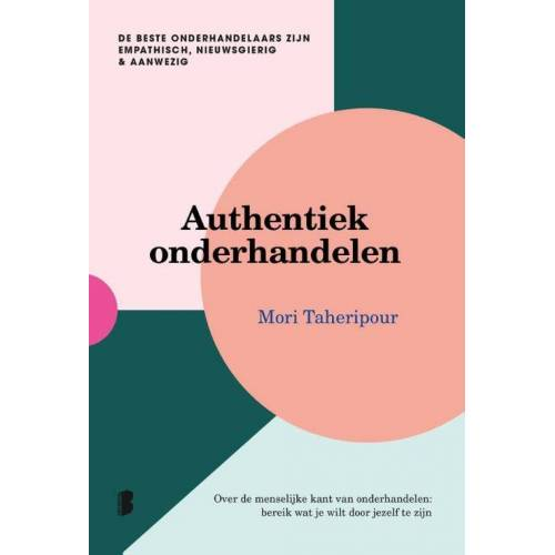 Authentiek onderhandelen - Mori Taheripour (ISBN: 9789022585771)