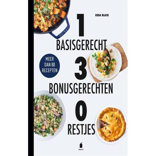 1 Basisgerecht 3 Bonusgerechten 0 Restjes - Keda Black (ISBN: 9789023016496)