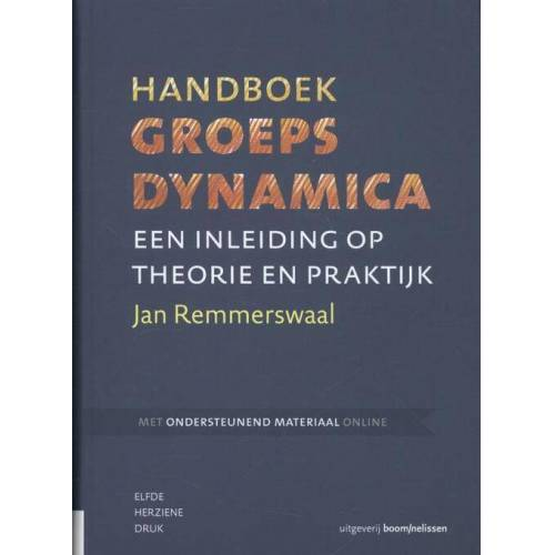 Handboek groepsdynamica - Jan Remmerswaal (ISBN: 9789024402328)