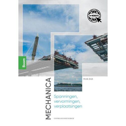 Mechanica: spanningen, vervormingen, verplaatsingen - Coenraad Hartsuijker (ISBN: 9789024429295)