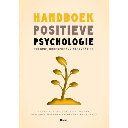 Handboek positieve psychologie - Ernst Bohlmeijer (ISBN: 9789024433445)
