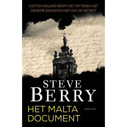 Het Maltadocument - Steve Berry (ISBN: 9789026148644)