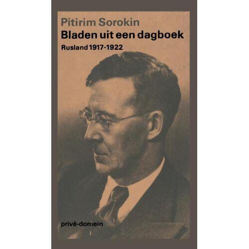 Bladen uit een dagboek - Pitrim Sorokin (ISBN: 9789029546324)