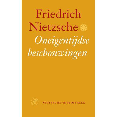 Oneigentijdse beschouwingen - Friedrich Nietzsche (ISBN: 9789029566308)