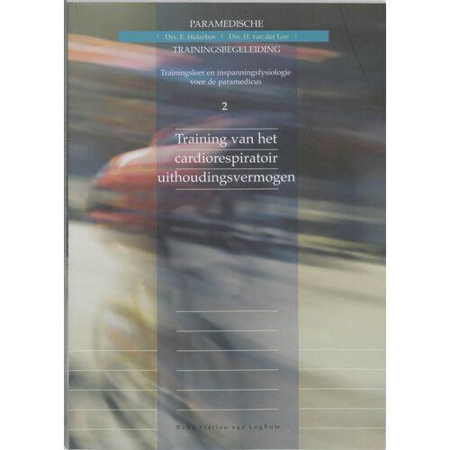 Training van het cardiorespiratoir uithoudingsvermogen - E. Hulzebos, Henk van der Loo (ISBN: 9789031334605)