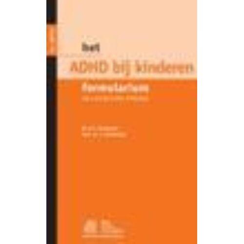 Het ADHD bij kinderen formularium - J. Oosterlaan, N.N.J. Rommelse (ISBN: 9789031351558)