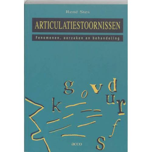 Articulatiestoornissen - R. Stes (ISBN: 9789033435744)