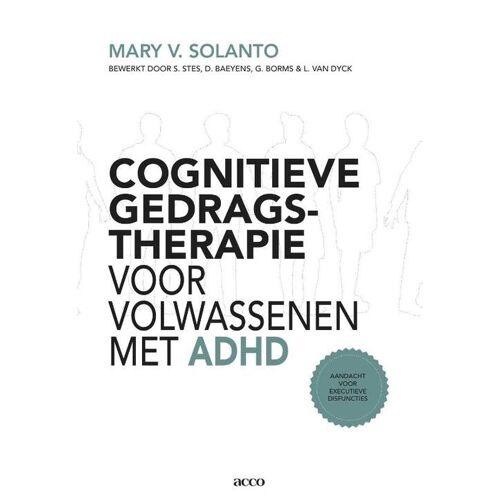 Cognitieve gedragstherapie voor volwassenen met ADHD Aandacht voor executieve disfuncties - Mary V. van Solanto (ISBN: 9789033488269)