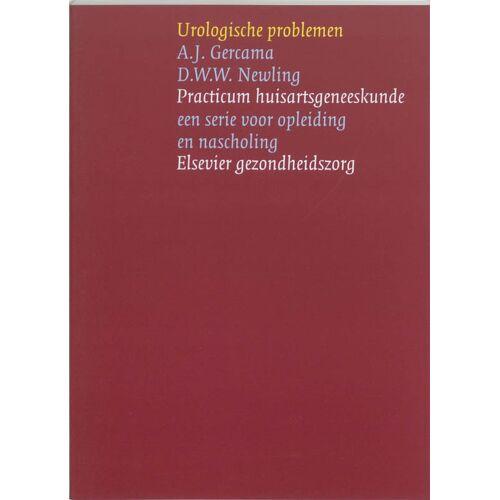 Urologische problemen - A.J. Gercema, D.W.W. Newling (ISBN: 9789035225824)