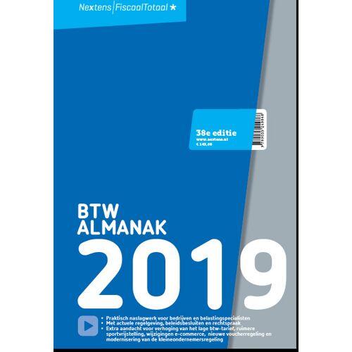 Nextens BTW Almanak 2019 - Jacques van Blijswijk (ISBN: 9789035249868)