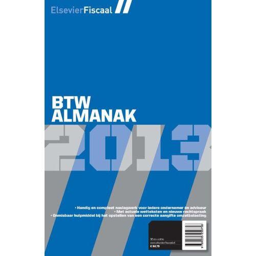 Elsevier btw almanak - Jacques van Blijswijk (ISBN: 9789035250840)