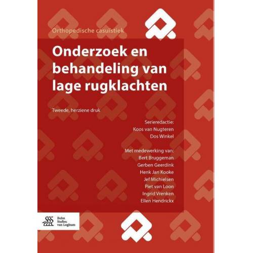 Onderzoek en behandeling van lage rugklachten - Dos Winkel, Koos van Nugteren (ISBN: 9789036818186)