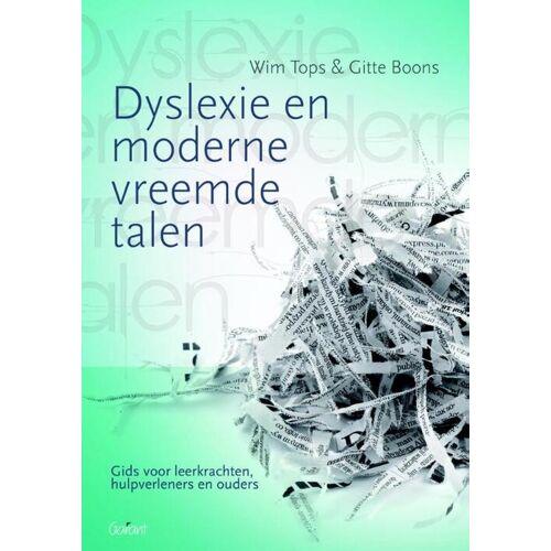 Dyslexie en moderne vreemde talen - Gitte Boons, Wim Tops (ISBN: 9789044129779)