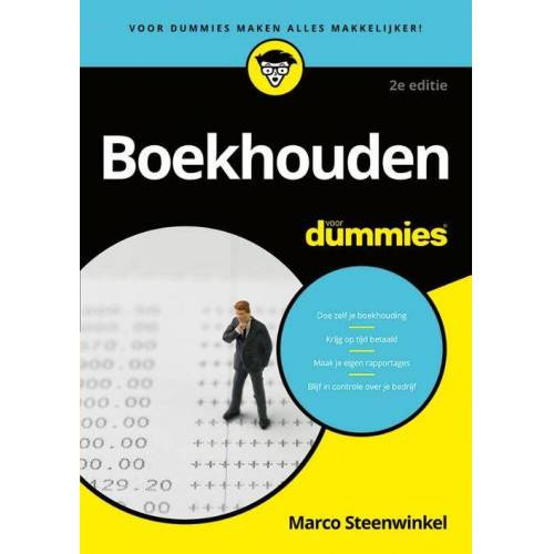 Boekhouden voor Dummies - Marco Steenwinkel (ISBN: 9789045356099)