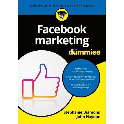 Facebookmarketing voor Dummies - John Hayden, Stephanie Diamond (ISBN: 9789045356594)