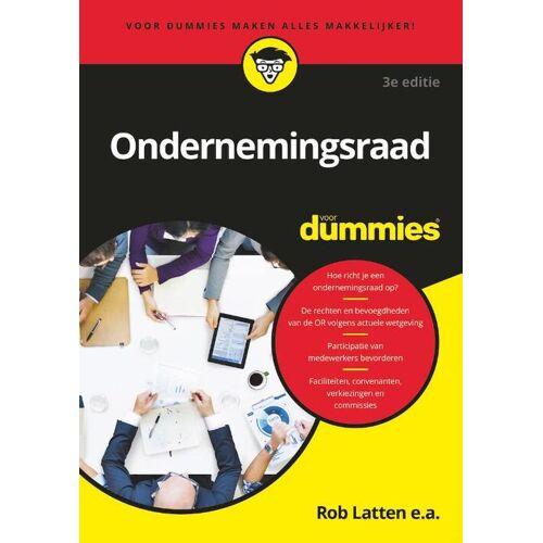 Ondernemingsraad voor Dummies - Rob Latten (ISBN: 9789045357294)
