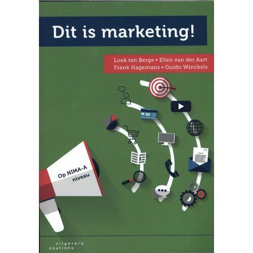 Dit is marketing! - Ellen van der Aart (ISBN: 9789046905500)